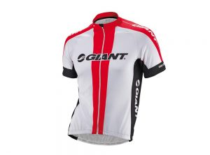 Giant Team Short Sleeve Cycling Jersey Red