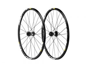 Mavic Crossride Disc 15/12 mm Thru Axle 650b Wheelset 27.5 inch – Black